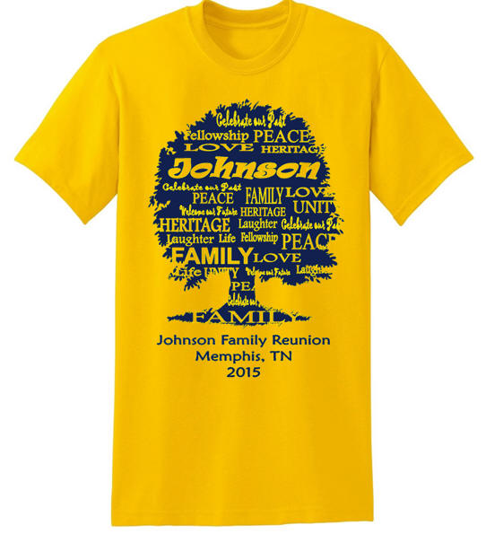 Family Reunion T Shirt Designs - T Shirts Design Concept